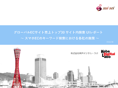 Vol2.海外版 ECトップ30 スマホサイトでの商品検索レポート「キーワード検索編」